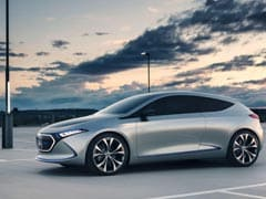 Mercedes-Benz EQA Concept Electric Car To Be Made In France