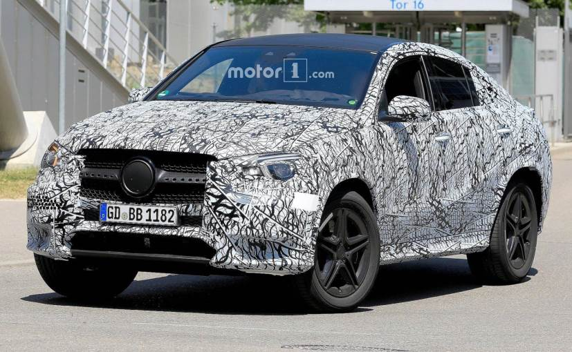The new-gen Mercedes-Benz GLE Coupe is expected to be unveiled in 2019