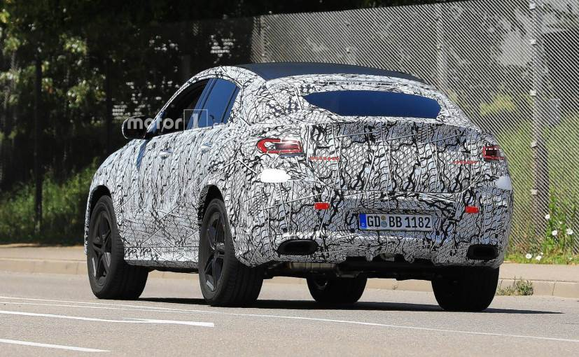 mercedes benz gle coupe spied