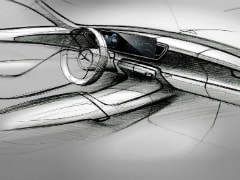 Mercedes-Benz Releases Interior Sketches Of New-Generation GLE SUV