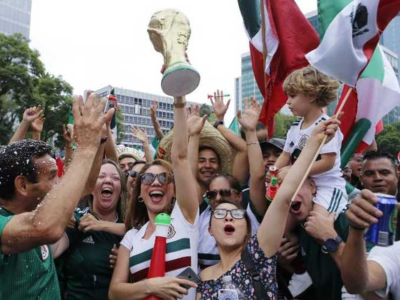 World Cup 2018: Tequilas For Korea Republic As Mexico Fans Mob Embassy After German Upset