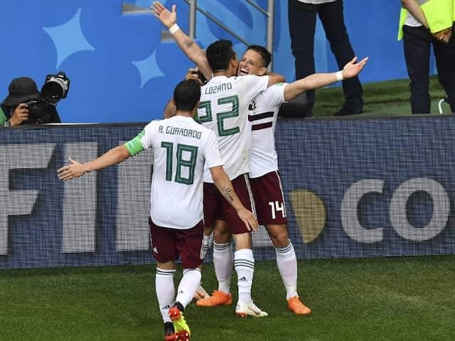 World Cup: Javier Hernandez Hits Half-Century As Mexico Battle Past South Korea