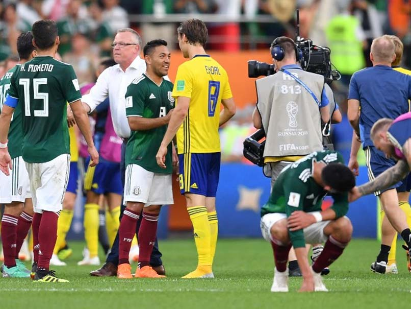 Sweden blanks Mexico; Both advance to knockout round
