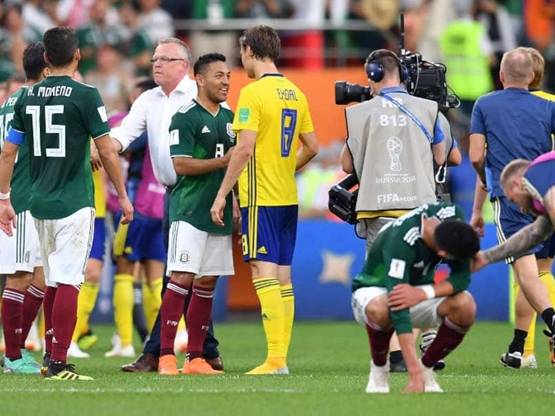 World Cup 2018: Sweden Power Into Last 16 By Beating Mexico