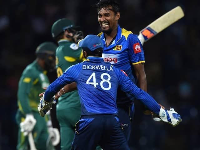 4th ODI: Sri Lanka End Losing Streak Against South Africa In Tense Clash