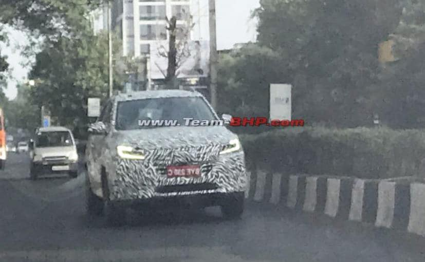 mg rx5 spied in india