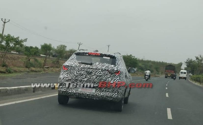 mg zs suv spied