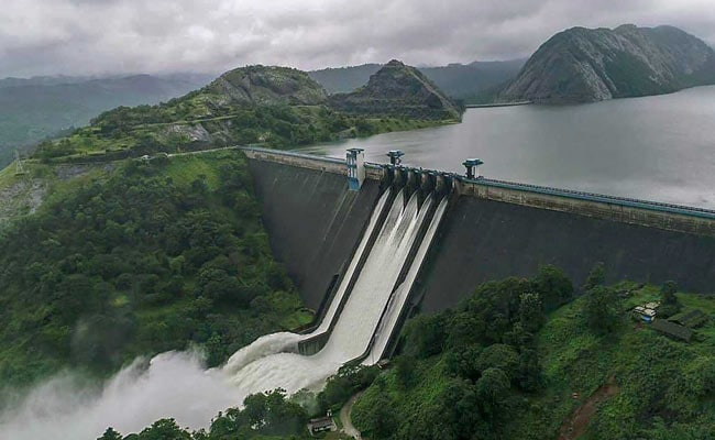 Shutters of Idukki Dam opened due to Heavy Rain warning