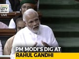 "Video : ""How Can I Look You In The Eye?"" PM's Comeback After Rahul Gandhi Attack"
