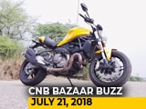 Video : Ducati Monster 821,Creta vs Captur, Eicher And Daimler's New CV Products