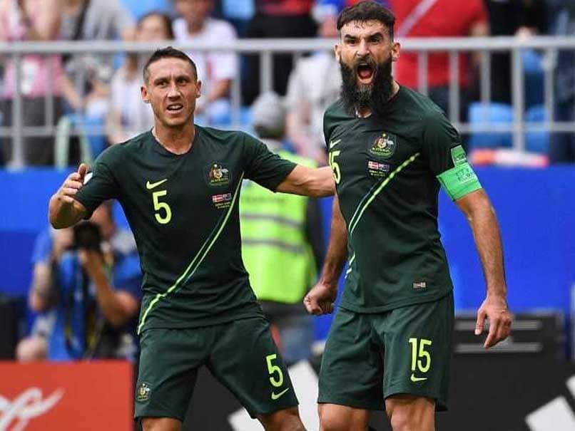 World Cup 2018: Mile Jedinaks Penalty Earns Australia 1-1 Draw Against Denmark