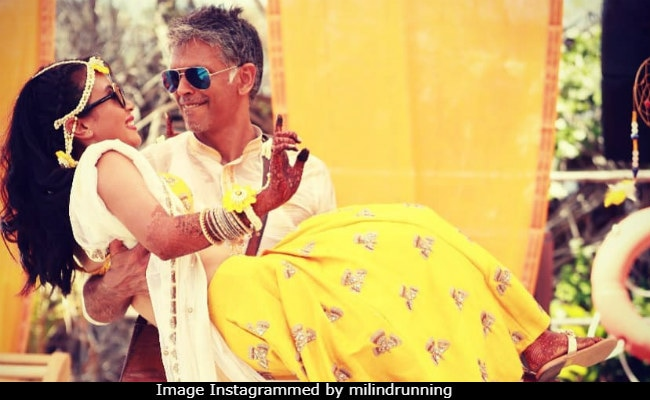 Milind Soman, Ankita Konwar Are Celebrating One Month Of Being Married And How