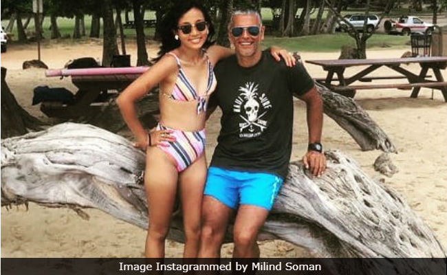 Inside Milind Soman And Ankita Konwar's Honeymoon Album From Hawaii