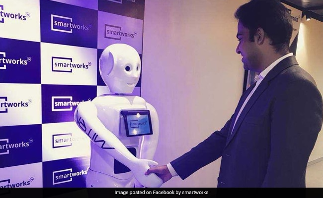 Made In India Robot 'Mitra' Hosts Event In Hyderabad