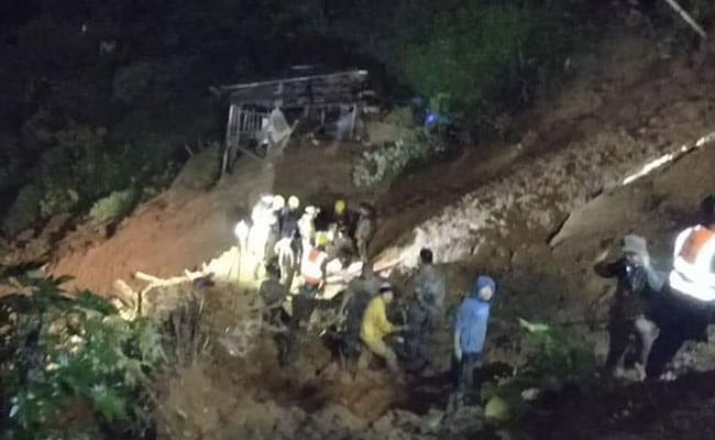 Ten Killed, One Injured In Landslide In Mizoram