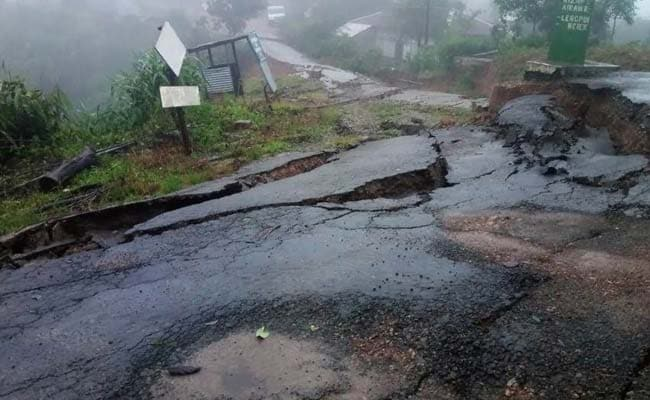 Heavy Rain Batters Mizoram, Operation To Rescue 150 Families Continues