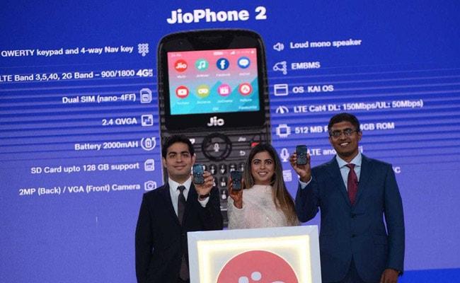 Reliance Jio Announces JioPhone 2, Details Here