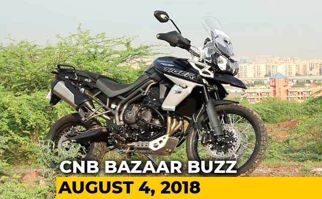 Triumph Tiger 800 XCx, RFC 2018, Ford Freestyle Goes Off-Roading