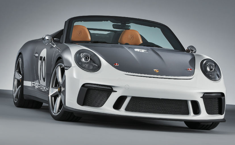 While a decision is yet to be made, the Porsche 911 Speedster concept could make it to production in 2019