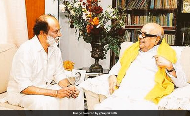 will never forget this day rajinikanth in tribute to karunanidhi