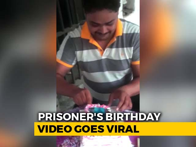 Video : Inmate Celebrates Birthday At UP's High-Security Prison, Video Goes Viral