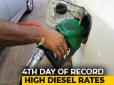 Video: Diesel Prices At New High, Petrol Prices Also Increase