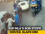 Video : On Video, Rajasthan BJP Lawmaker's Son Drags Man Out Of Car, Slaps Him