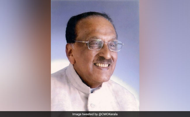 MM Jacob, Senior Congress Leader And Former Meghalaya Governor, Dies