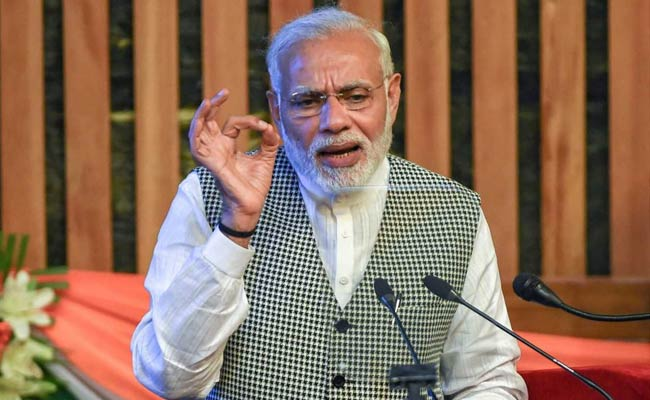 PM Modi Appeals To Kashmir's 'Misguided Youths' To Shun Violence