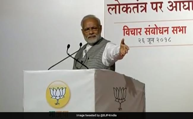 Congress Turned India Into A Jail For Selfish Gains: PM Modi On Emergency