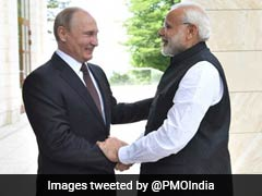 """Up To India To Decide"": Russia On Defence Deals During Putin Visit"