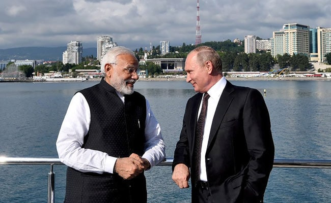 PM Modi's Praise For Vladimir Putin After Russia Announces Highest Award