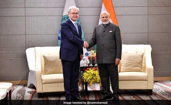 PM Modi, Shanghai Summit Organisation Secretary Discuss India's Contribution To Bloc