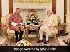 PM Modi Holds Talks With Bhutanese Counterpart Tshering Tobgay