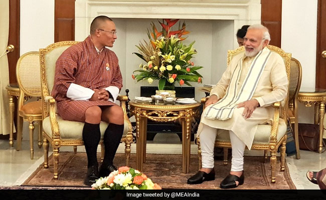 PM Modi Holds Talks With Bhutanese Counterpart Tshering Tobgay