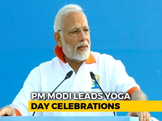 Video : PM Modi Addresses Thousands In Dehradun On Yoga Day