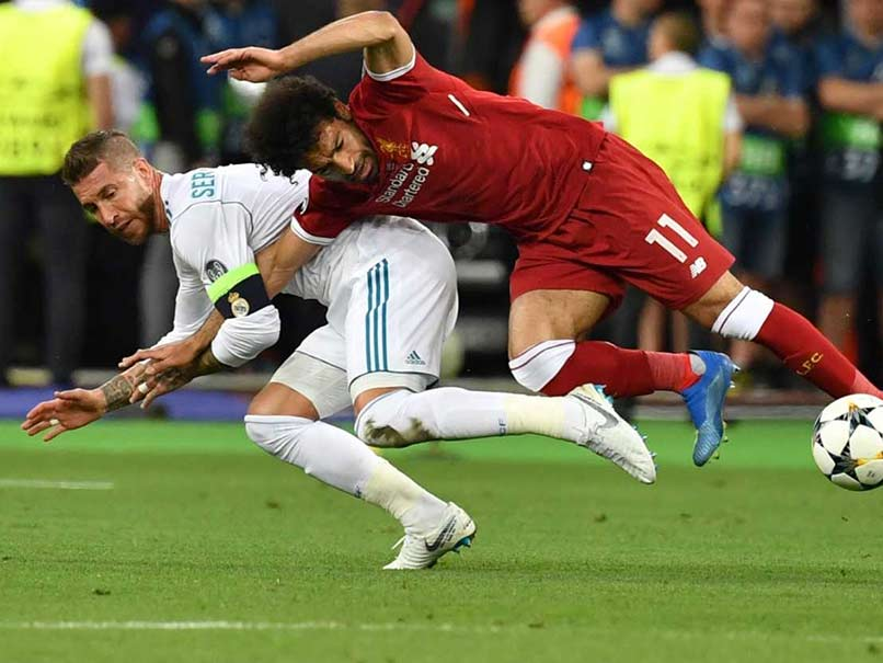 Mohamed Salah Grabbed My Arm First In Champions League Final, Says Sergio Ramos