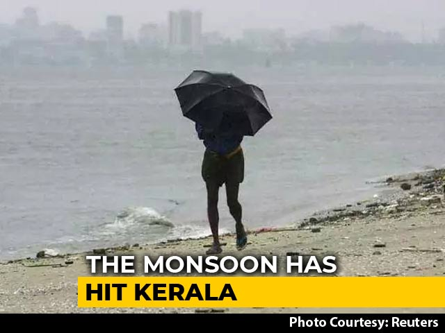 Video : Monsoon Hits Kerala 3 Days Before Schedule: Met Department