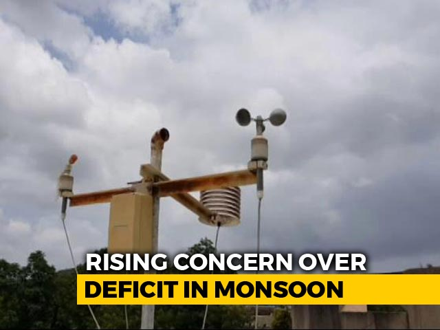 Video : Quarter Of Monsoon Over, 4% Rain Deficit So Far. But 3 More Months To Go