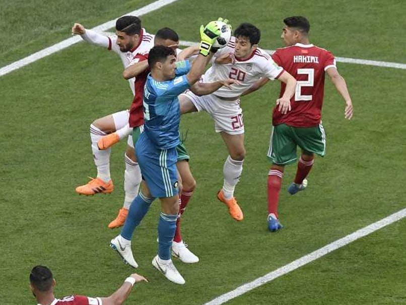 World Cup Morocco vs Iran Highlights: Iran Off To A Winning Start, Beat Morocco 1-0
