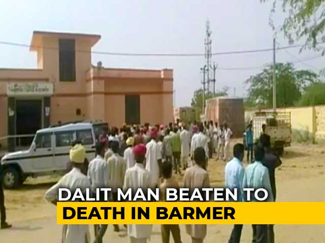 Video : Rajasthan Dalit Man Beaten To Death Allegedly For Affair With Muslim Girl