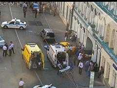 "On Video, Taxi Ploughs Into Moscow Crowd. Driver Says He ""Wanted Sleep"""
