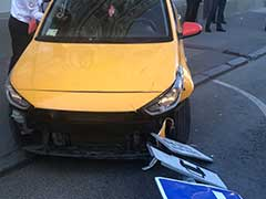 Moscow Taxi Driver Clocked 20-Hour Shift Before Crashing Into Pavement