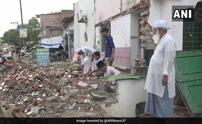 In Allahabad, Muslims Demolish Parts Of Mosques For Kumbh Mela Project