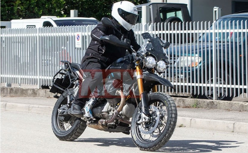 Moto Guzzi V85 Adventure Bike Spotted Testing