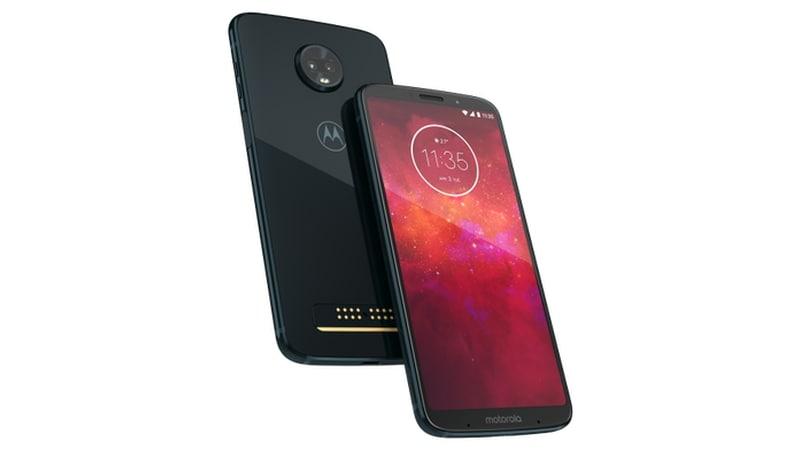 Moto Z3 Play स्मार्टफोन लॉन्च, इसमें है 18:9 एमोलेड डिस्प्ले और ये फीचर