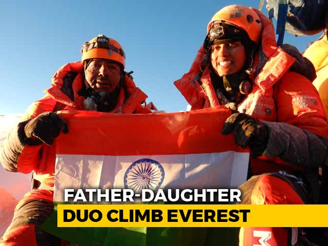Video : First Indian Father-Daughter Duo To Climb Mount Everest