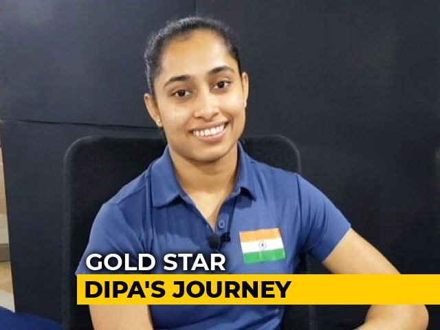 Video : Gymnastics' Golden Girl Dipa Karmakar Is Preparing For The Upcoming Asiad