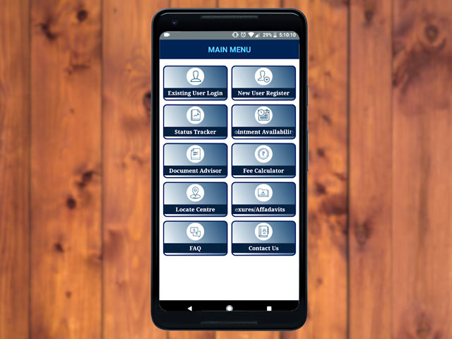 Video : mPassport Seva App