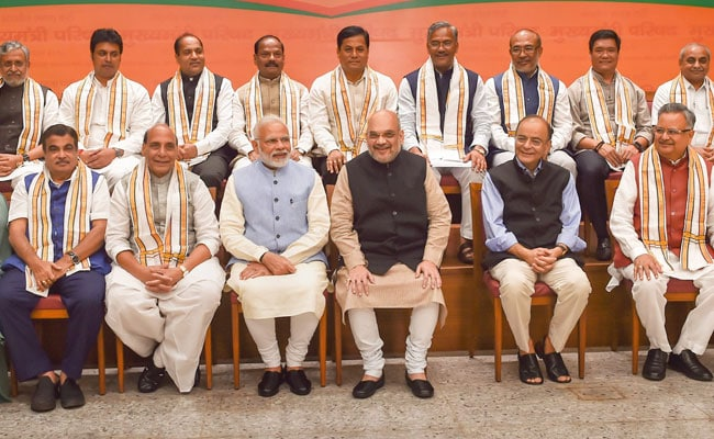 Swachh Bharat, Gram Swaraj Projects In Focus At BJP Chief Ministers' Meet